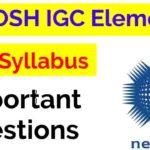 Nebosh IGC Important questions
