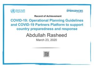 How to get the free nCovid-19 course certificate from WHO