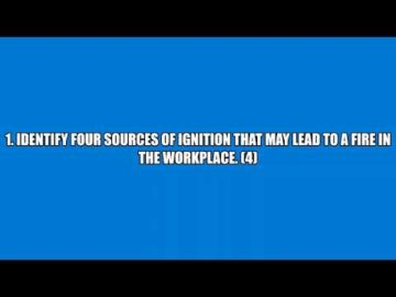 Nebosh IGC Unit 2 Question answers