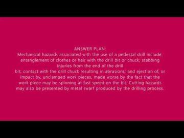 Nebosh GC2 Element 1 Question 4